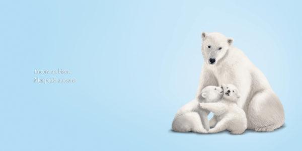 Bonne nuit mon petit, livre jeunesse sur les animaux qui se font des calins - Good night my little