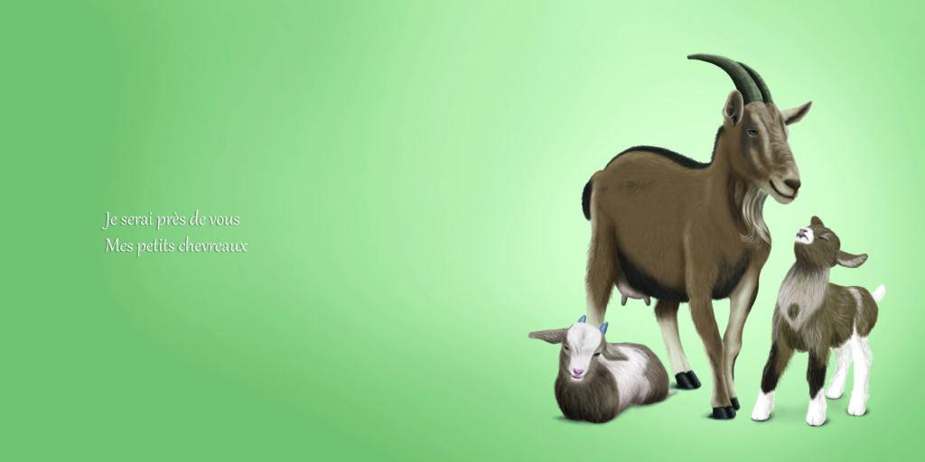 Bonne nuit mon petit, livre jeunesse sur les animaux, un album rempli d'amour, de tendresse. Chat, panda, renard, cerf, manchot, chèvre