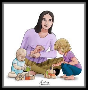 Avatar illustration Audrey Janvier
