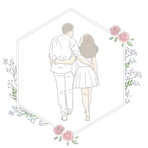 Faire Part de mariage illustré