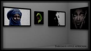 Tableaux style africain02