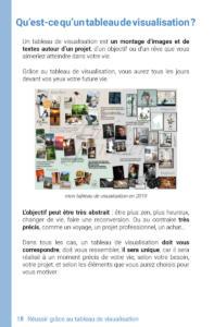 Livre d'Audrey Janvier, Reussir Grace Au Tableau de Visualisation Page 18