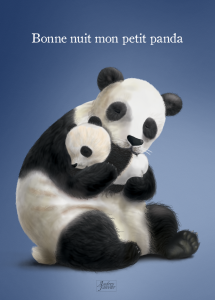 CarteA6 Panda